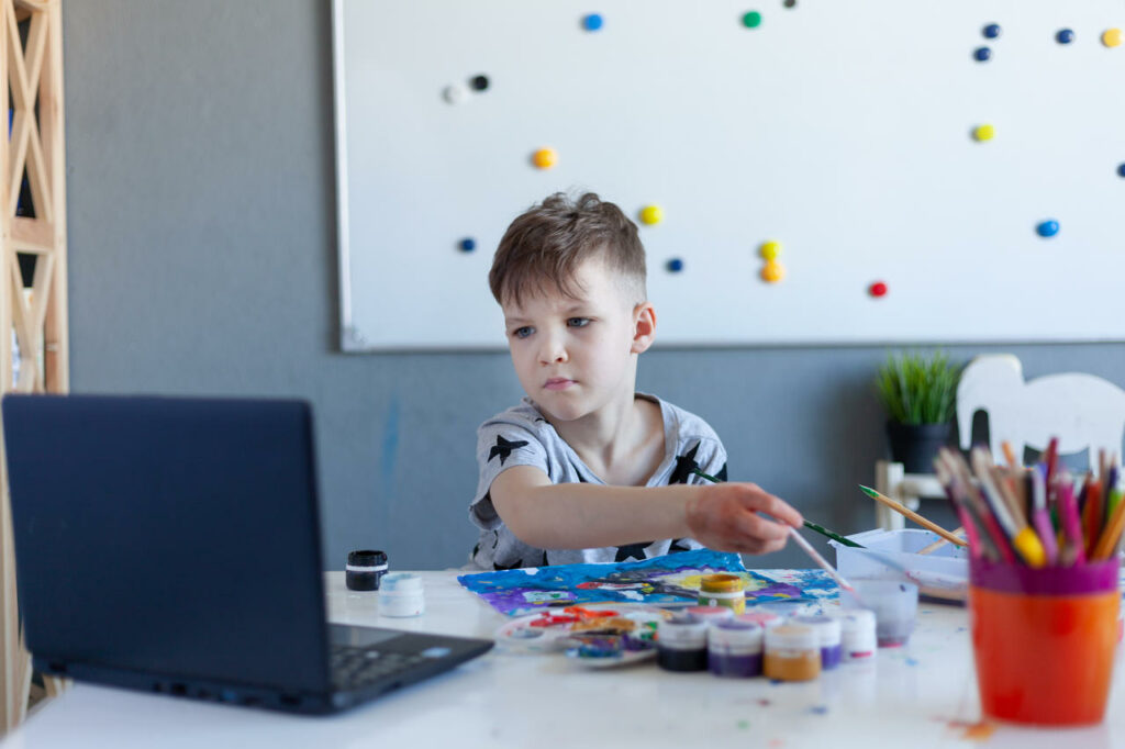 Online Learning To Get Your Child Back On Track
