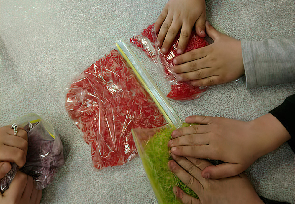 Children learn through Daily Use Of senses