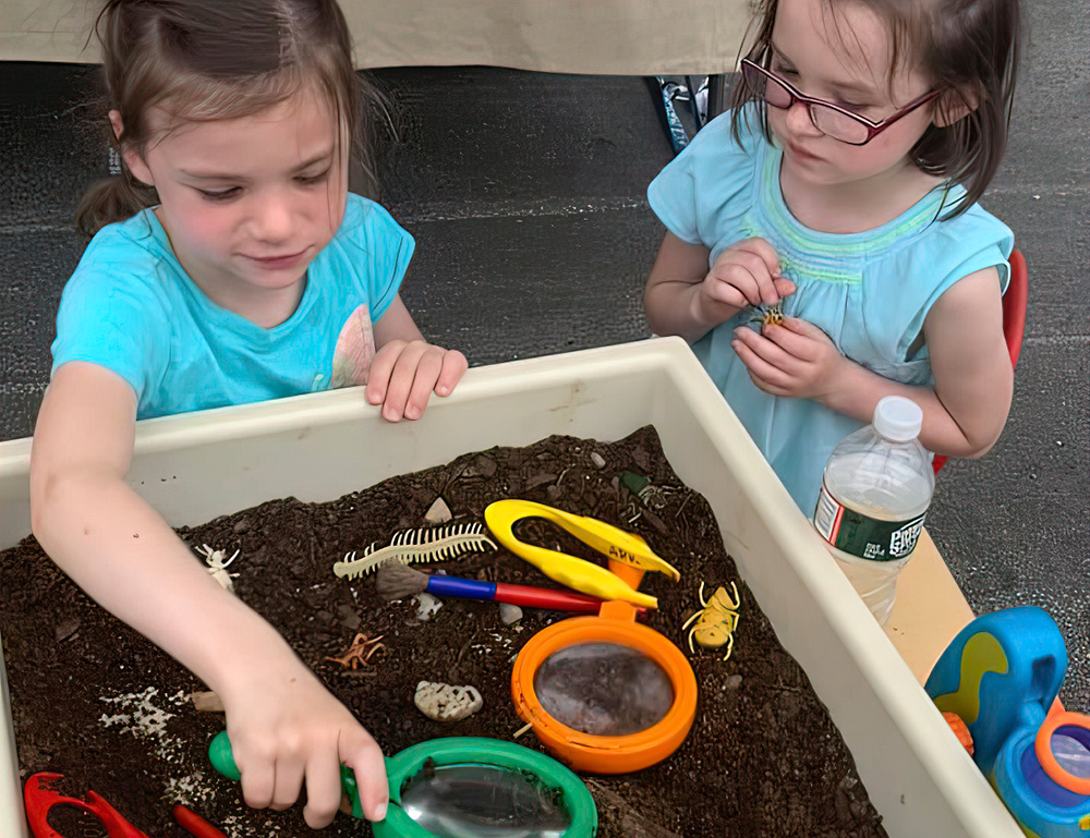 Children Practice Kindness in Action with Community Involvement