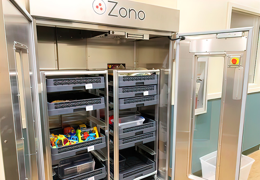 The Zono Cabinet© Eradicates Germs, Flu, And Viruses
